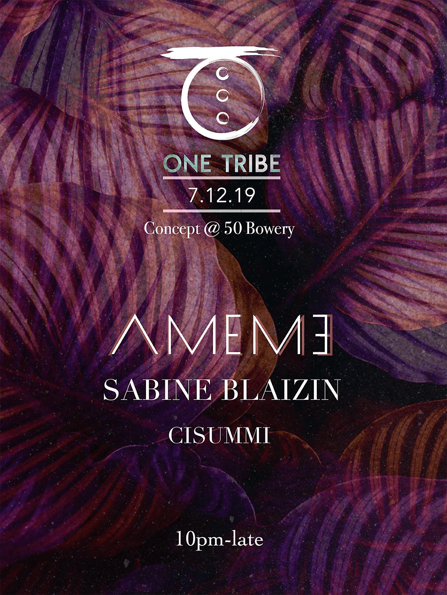 One Tribe party