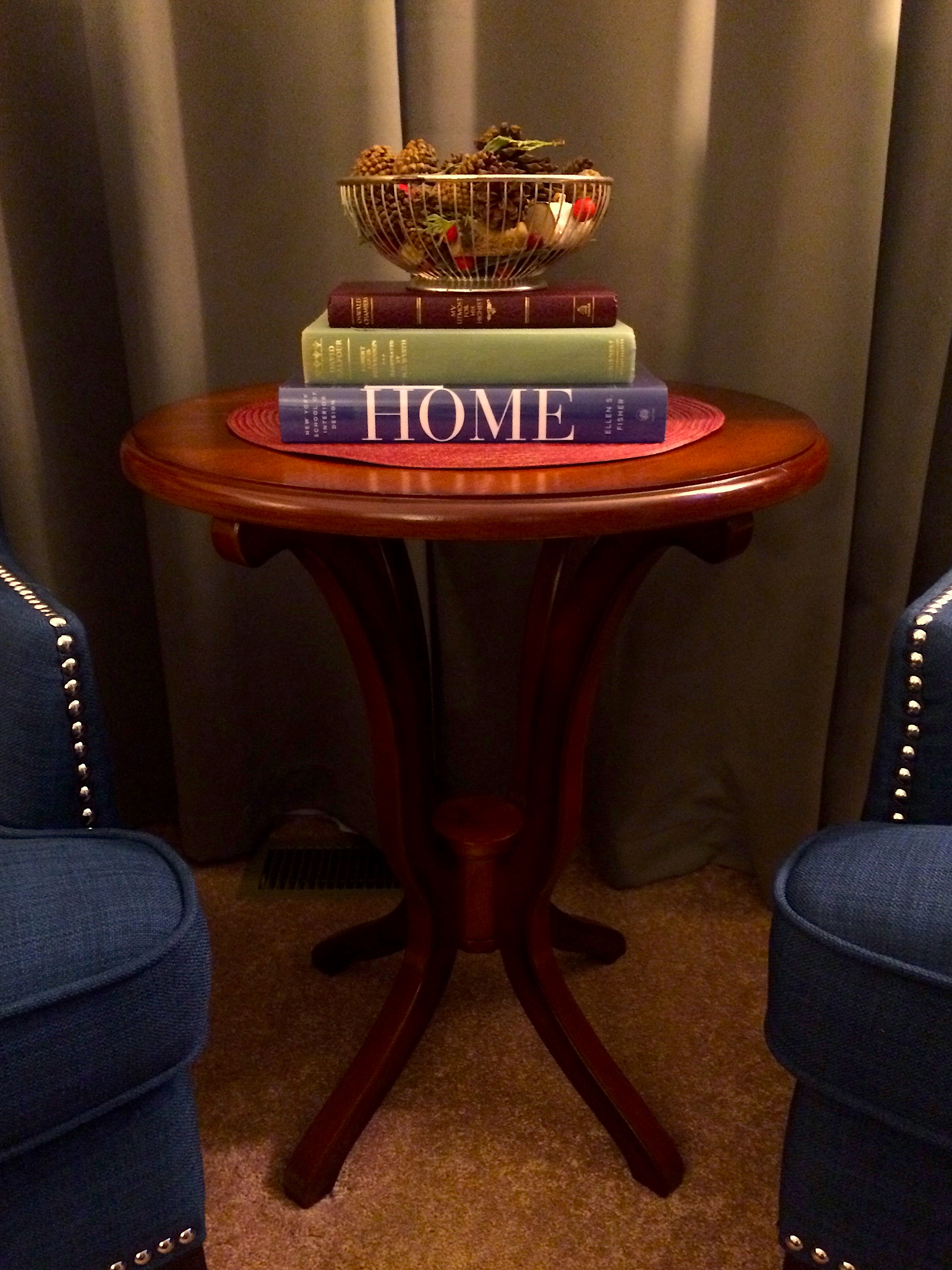 Daffodil Brown Accent Table from Pier1