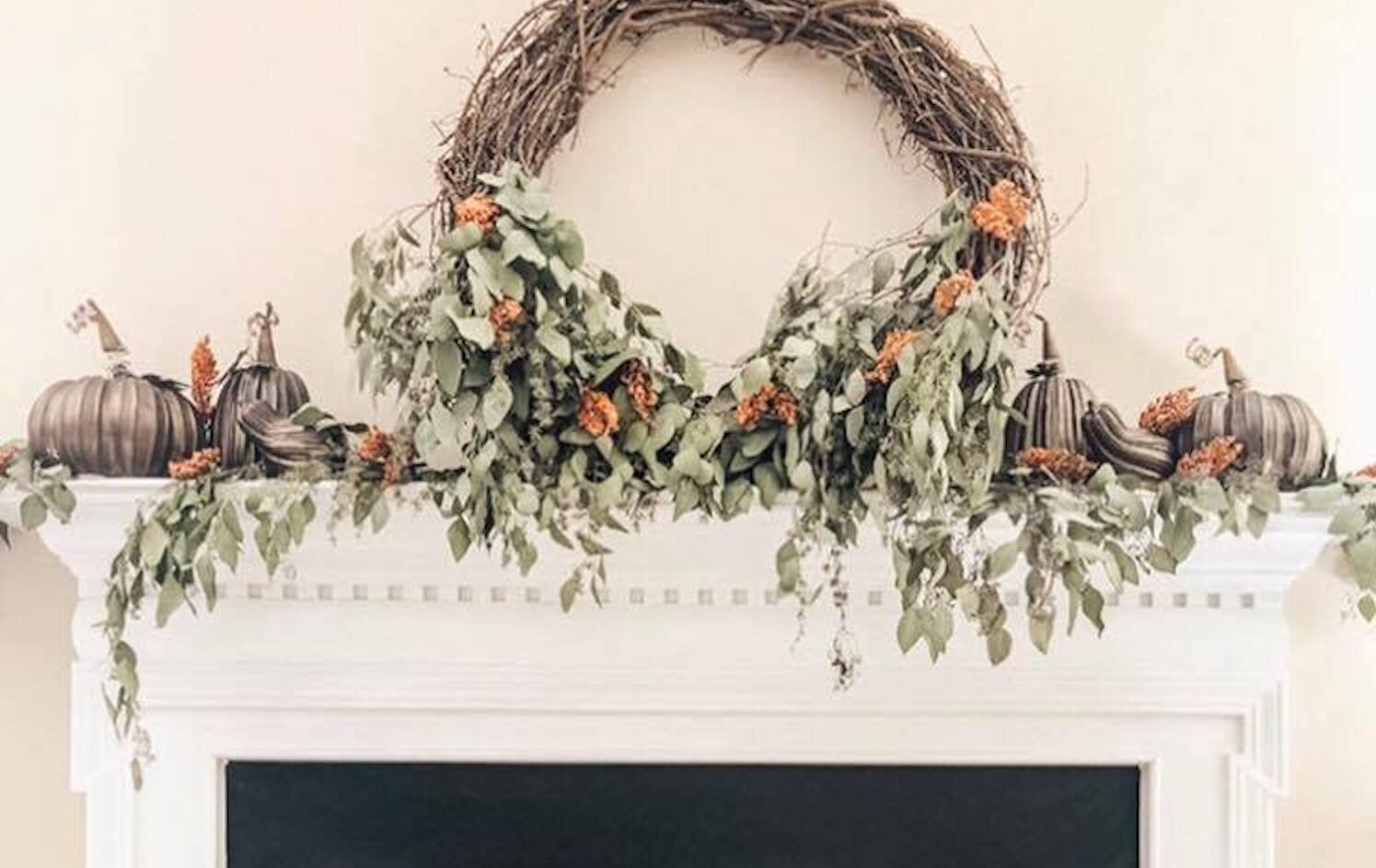 Positively Purvis: Update to Fresh Eucalyptus Wreath and Garland