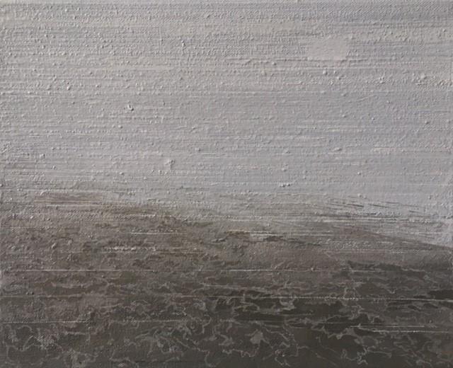North Sea Melancholia one  25 x 20cm oil on canvas