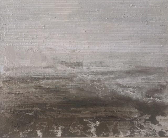 North Sea Melancholia two  25 x 20cm oil on canvas