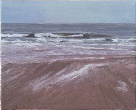 North Sea study 22  25 x 20cm oil on canvas