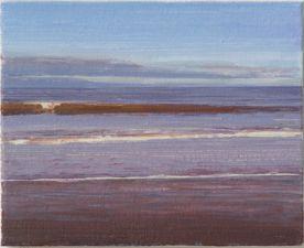 North Sea study 21  25 x 20cm oil on canvas