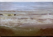 North Sea study 4  18 x 12cm