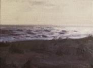 North Sea study 7  18 x 12cm  Private Collection