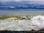 North Sea study 6  18 x 12cm