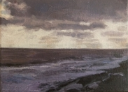 North Sea study 8  18 x 12cm  Private Collection