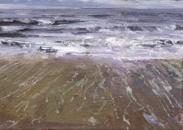 North Sea study 10  18 x 12cm  Private Collection