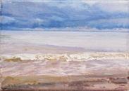 North Sea study 11  18 x 12cm