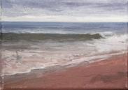 North Sea study 12  18 x 12cm