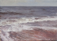 North Sea study 13  18 x 12cm