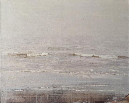 North Sea study 23  50 x 40 cm oil on canvas