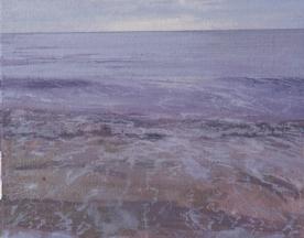 North Sea study 18  25 x 20cm oil on canvas