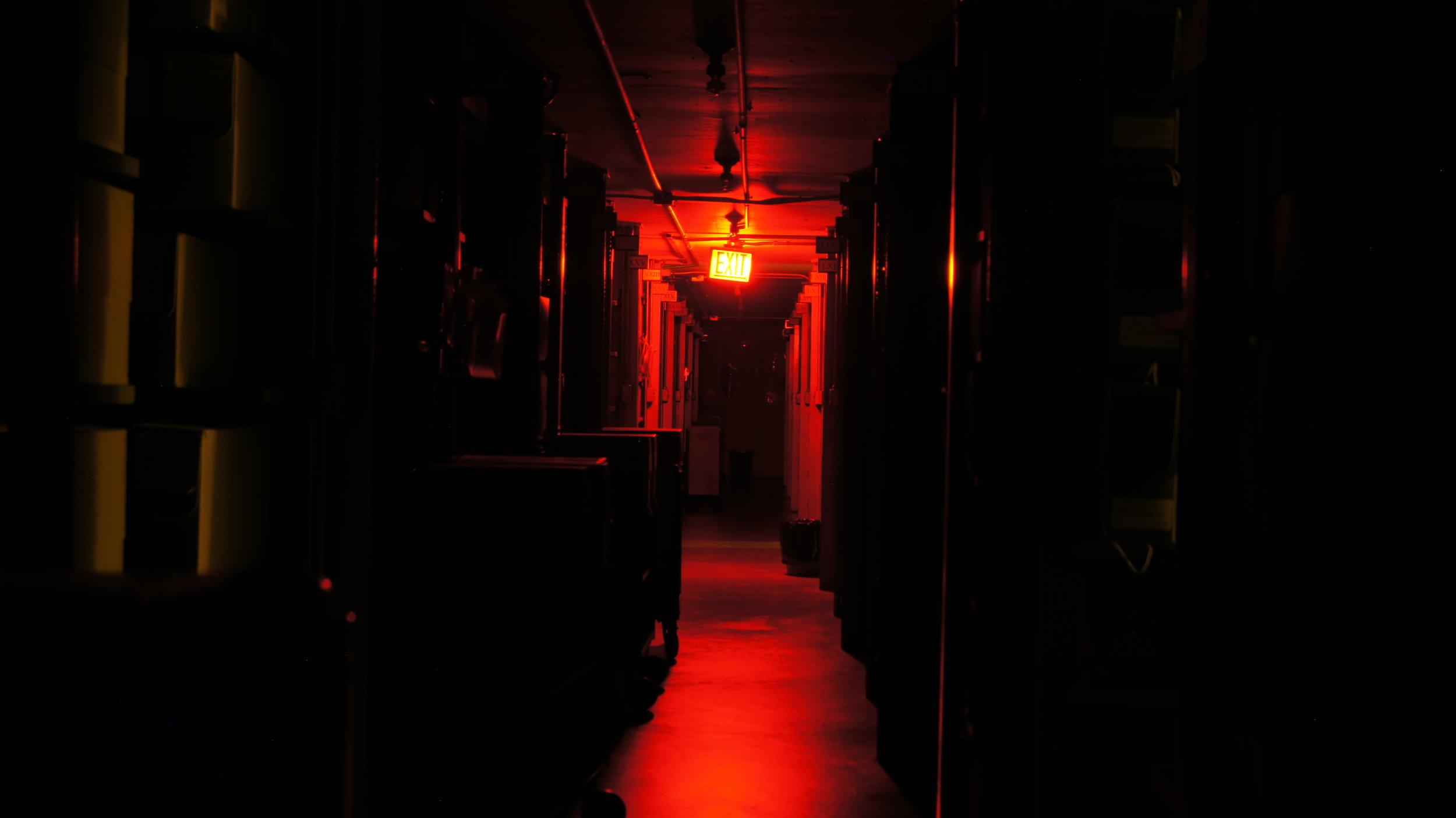 Concept - Gloomy Ghost Corridor