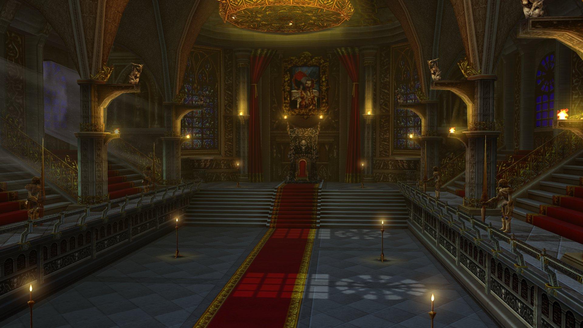 Concept - Gloomy Throne Room