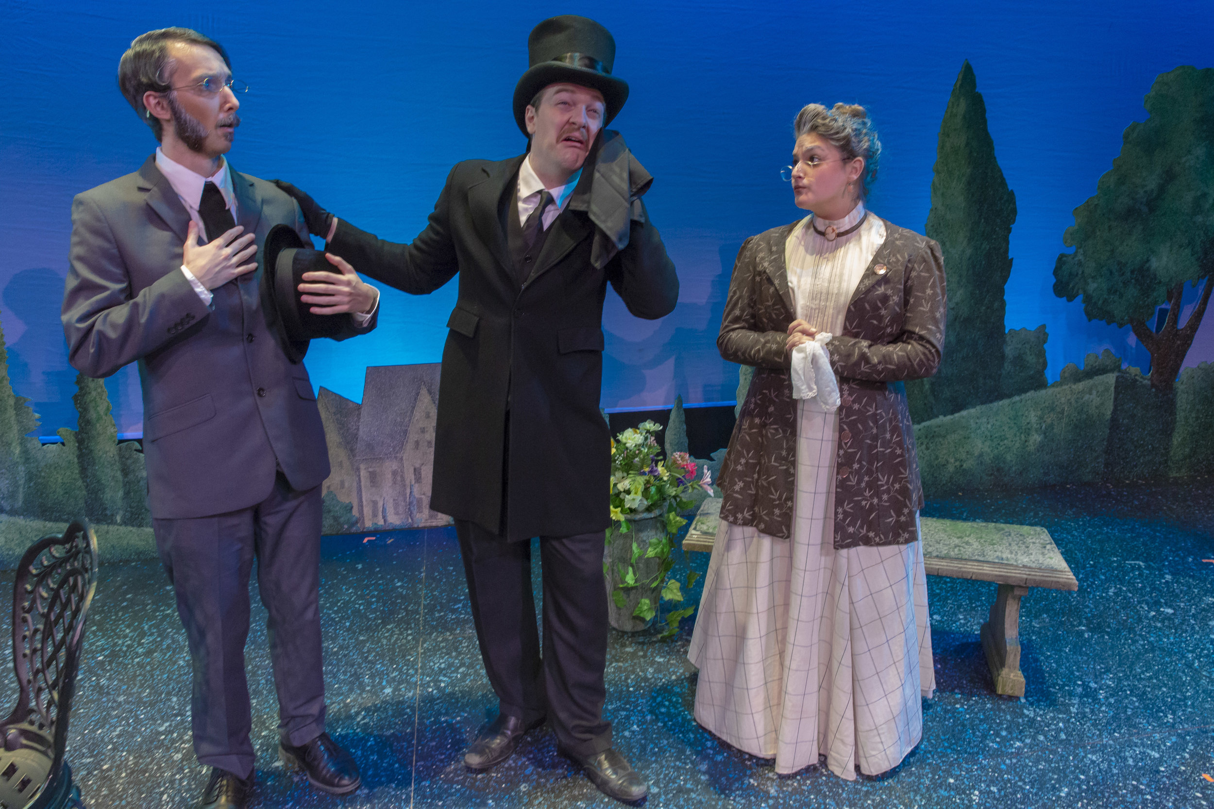 The Importance of Being Earnest  at Lafayette College (2018), directed by Michael O'Neill.