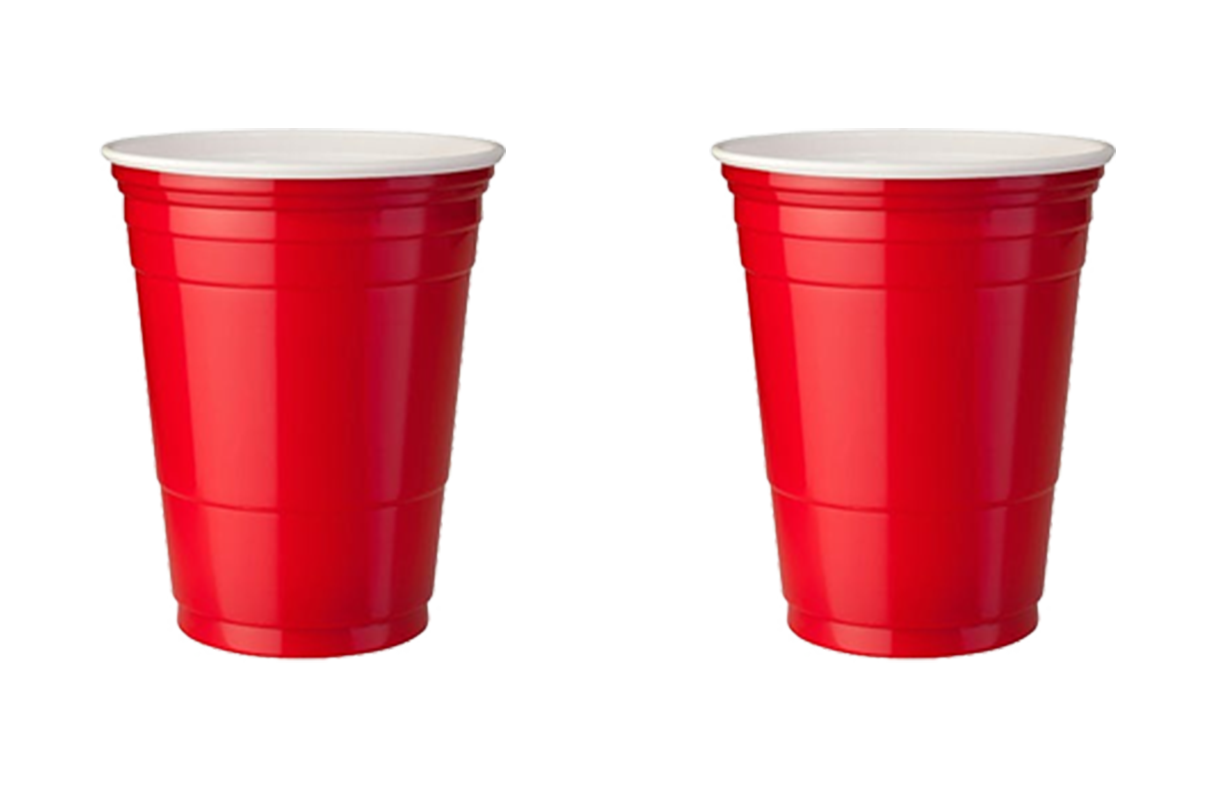Uncle's Critique - 2 out 5 party cups