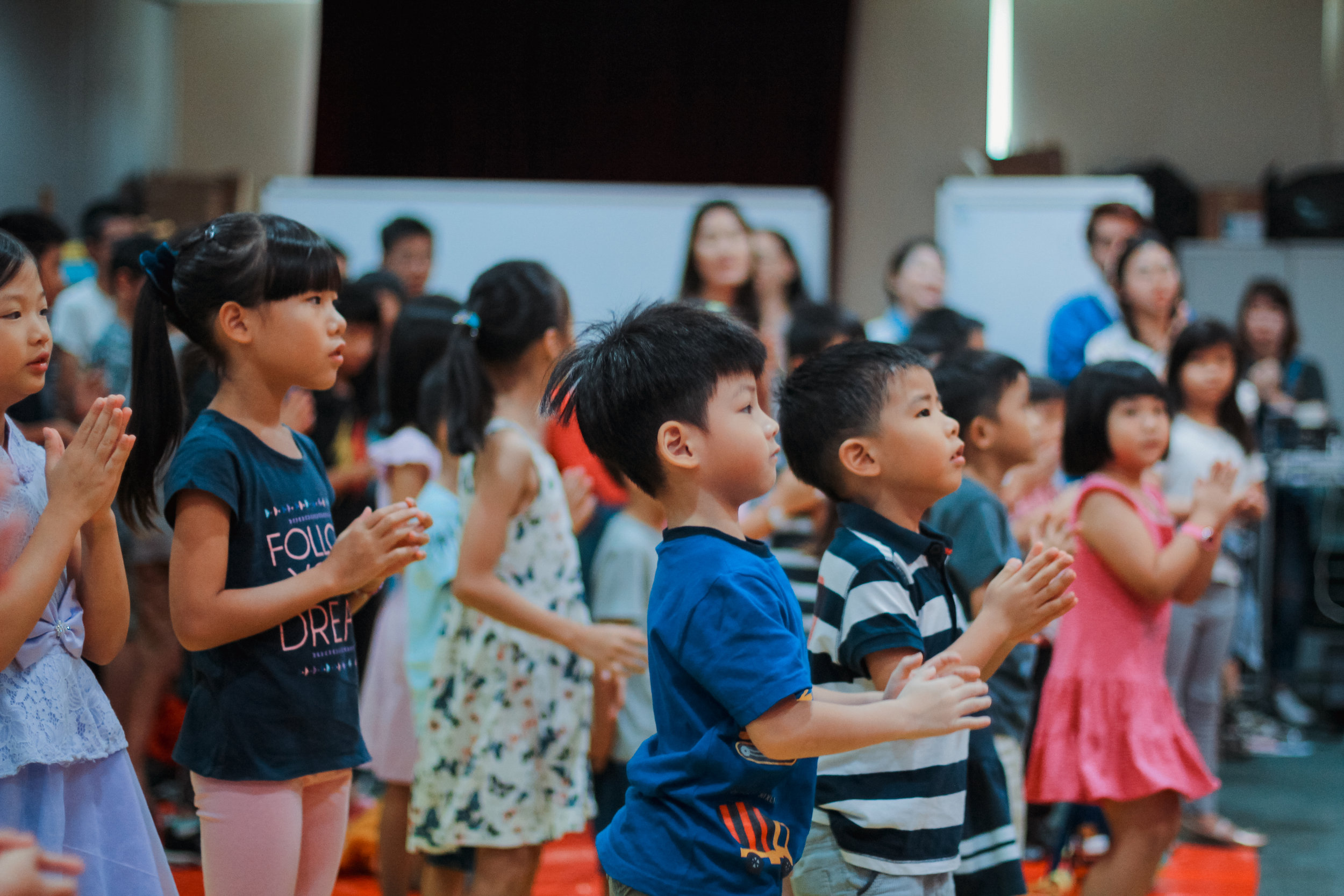 Children/Electric Kids' Company (EKC)   EKC seeks to reach and nurture children to know Christ and make Him known, with a focus on knowing God's word and reflecting Jesus.