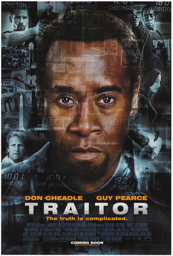 - POSITION: Executive ProducerSTUDIO: Paramount PicturesYEAR: 2008GENRE: Action, Crime, DramaPLOT: When straight-arrow FBI agent Roy Clayton heads up the investigation into a dangerous international conspiracy, all clues seem to lead back to former U.S. Special Operations officer, Samir Horn.DIRECTOR: Jeffrey NachmanoffCAST: Don Cheadle, Guy Pearce, Saïd Taghmaoui, Jeff DanielsLOCATION: Ontario/Hamilton/Toronto, Canada; Chicago, USA; London, UK; Marseille, France; Marrakech, MoroccoIMDBIMDB PROTRAILERBOX OFFICE MOJOSTREAMING