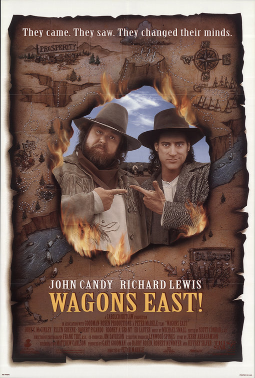 - POSITION: ProducerSTUDIO: Tristar PicturesYEAR: 1994GENRE: Adventure, Comedy, WesternPLOT: In the 1860's Wild West, when a ragged bunch of misfit settlers decide they cannot stand living in their current situation, they hire a grizzled cowboy to take them on a journey back to their hometowns east.DIRECTOR: Peter MarkleCAST: John Candy, Richard LewisLOCATION: Zacatecas/Durango, MexicoIMDBIMDB PROTRAILERBOX OFFICE MOJOSTREAMING