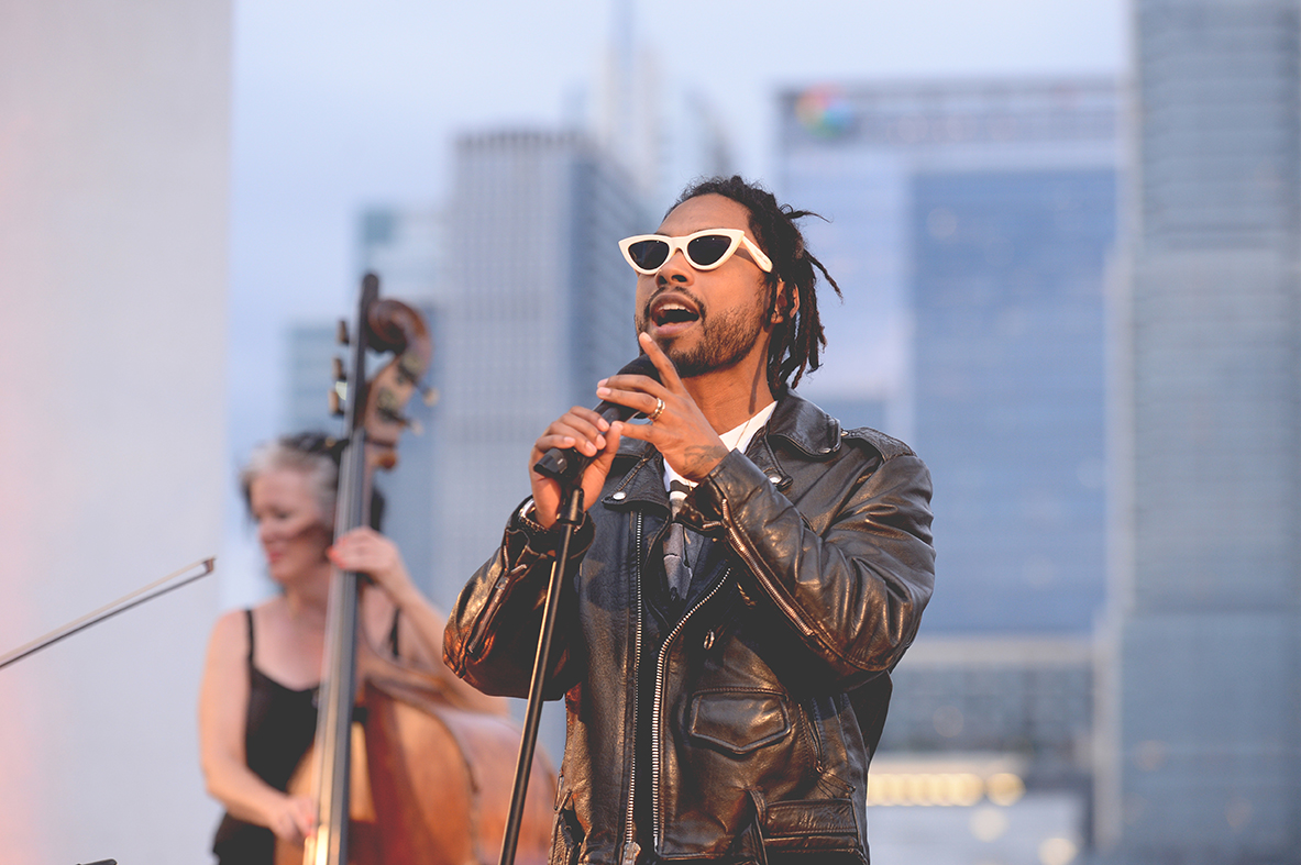 Miguel SXSW Michelob Ultra Pure Golden Hour