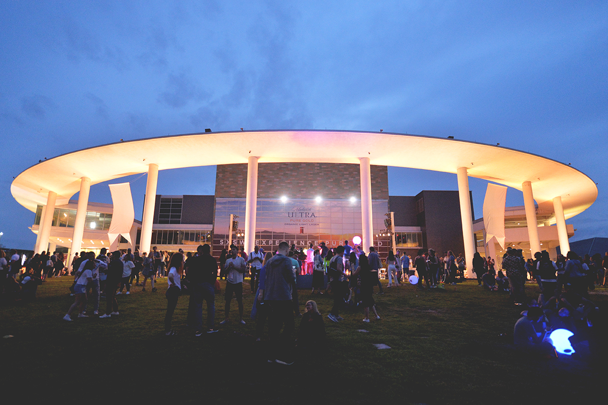 The Long Center for Performing Arts SXSW Michelob Ultra Pure Golden Hour