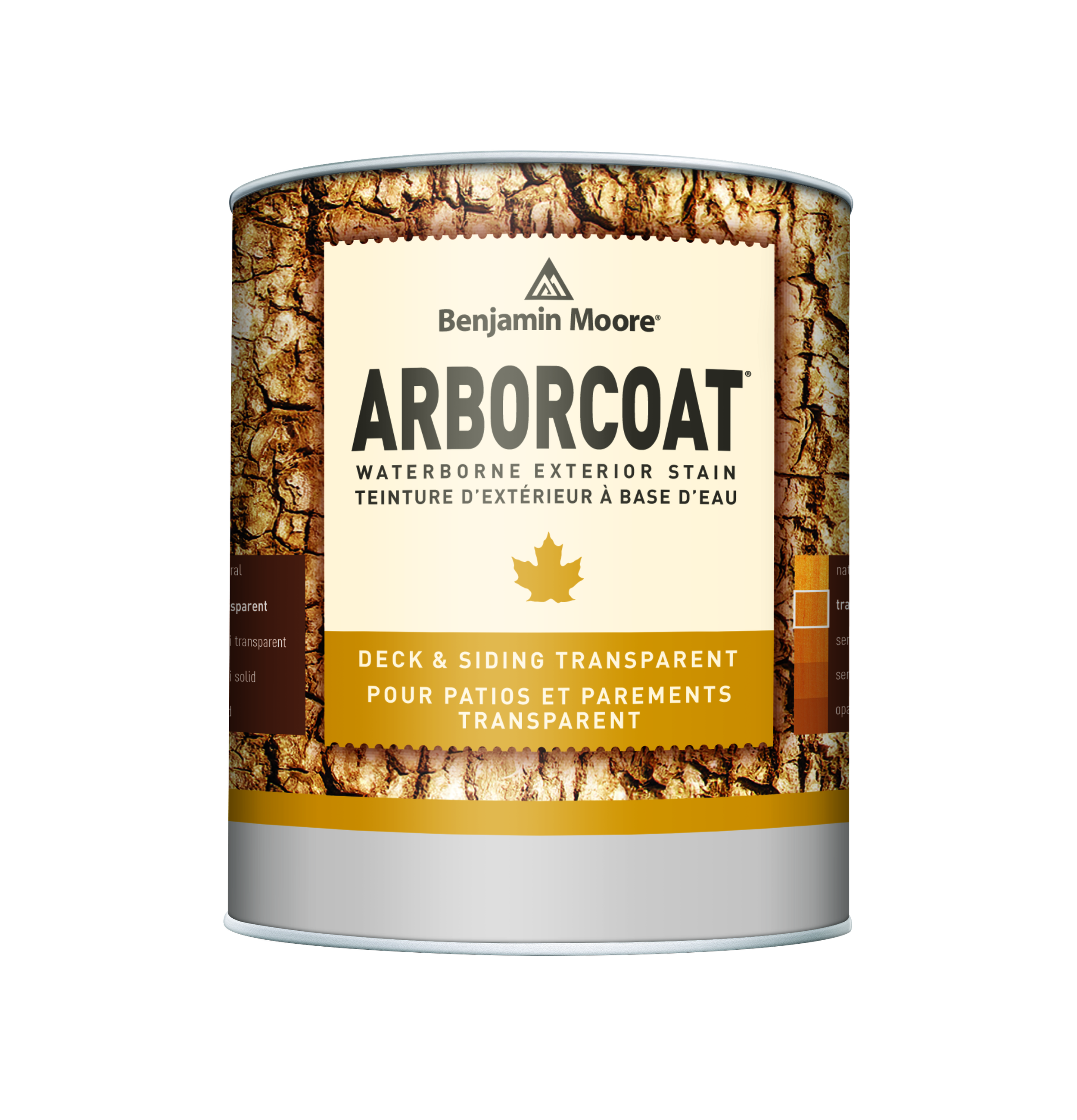 ARBORCOAT® Premium Exterior Stain - ARBORCOAT Premium Exterior Stains offer a variety of opacities in an array of captivating colors that let you express your own unique style. These finishes are designed to enhance the appearance of your deck, siding, or outdoor wood furniture with outstanding color retention. All ARBORCOAT finishes are easy to apply and offer superior protection while enriching the texture and grain of exterior wood surfaces.