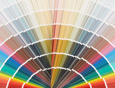 Pick the perfect colour for your project. -