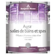 AuraMD pour salles de bains et spas - Aura pour salles de bains et spas est un fini mat somptueux conçu pour les environnements très humides.