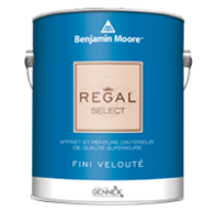 Peinture RegalMD Select d'intérieur - REGAL Select d'intérieur est une marque de confiance formulée pour un nettoyage facile et une excellente résistance au frottage; elle est offerte dans une vaste gamme de lustres.