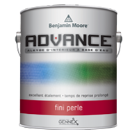 Peinture d'intérieur ADVANCE - Perle - Une peinture alkyde à base d'eau de qualité supérieure qui offre une gamme complète de finis durables haut de gamme pour les portes, moulures et armoires.