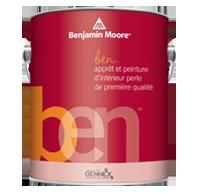 Peinture d'intérieur ben - Perle - Ben offre le niveau de performance de Benjamin Moore tout en répondant aux besoins spécifiques d'un produit premium d'entrée de gamme. Ben propose un produit à faible teneur en COV sans sacrifier le désir de qualité du consommateur.