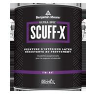 Ultra Spec SCUFF-X - fini mat - Une formule latex révolutionnaire à composant unique qui offre une résistance supérieure au frottement dans les centres commerciaux achalandés.
