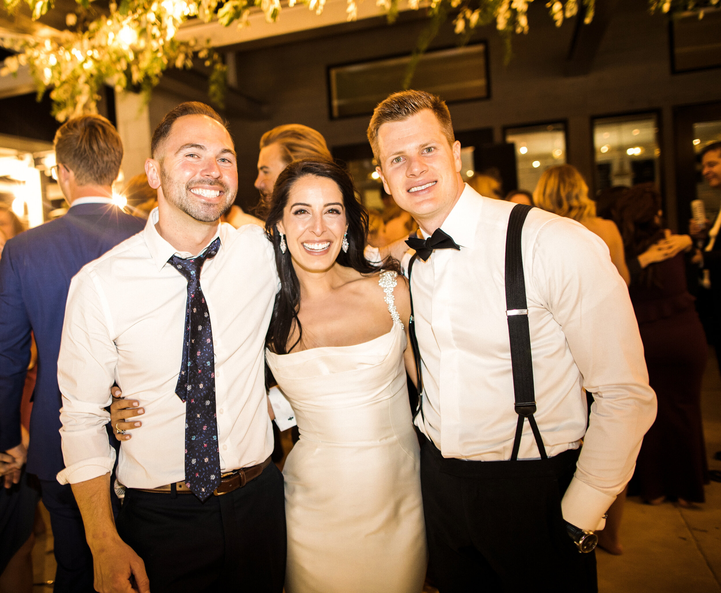 """Testimonials - We couldn't have been happier with our decision to use DJ Elliott for our wedding. Leading up to the event Elliott took the time to get to know us and our style so he could really understand what we were looking for and the environment we wanted to create. Elliott worked with us to develop unique dinner and reception playlists that incorporated his suggestions but always put our vision and opinions first. During our event Elliott went out of his way to make sure things ran smoothly and on schedule, even helping other vendors and making sure our food and beverage needs were being met. On the dance floor Elliott brought high energy, smooth transitions, and timely selections that kept the party going strong all night (with several encores). Since the event, we have had multiple guests comment on Elliott's performance and have even had friends request our playlists to try and """"save"""" other wedding receptions as they were happening.All the best,Garrett and Jaqueline"""