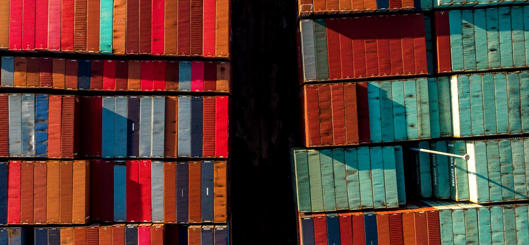 Photo:       Shipping Containers    by    Matt Wiebe   ,    CC BY 2.0    via    Flickr.com   .