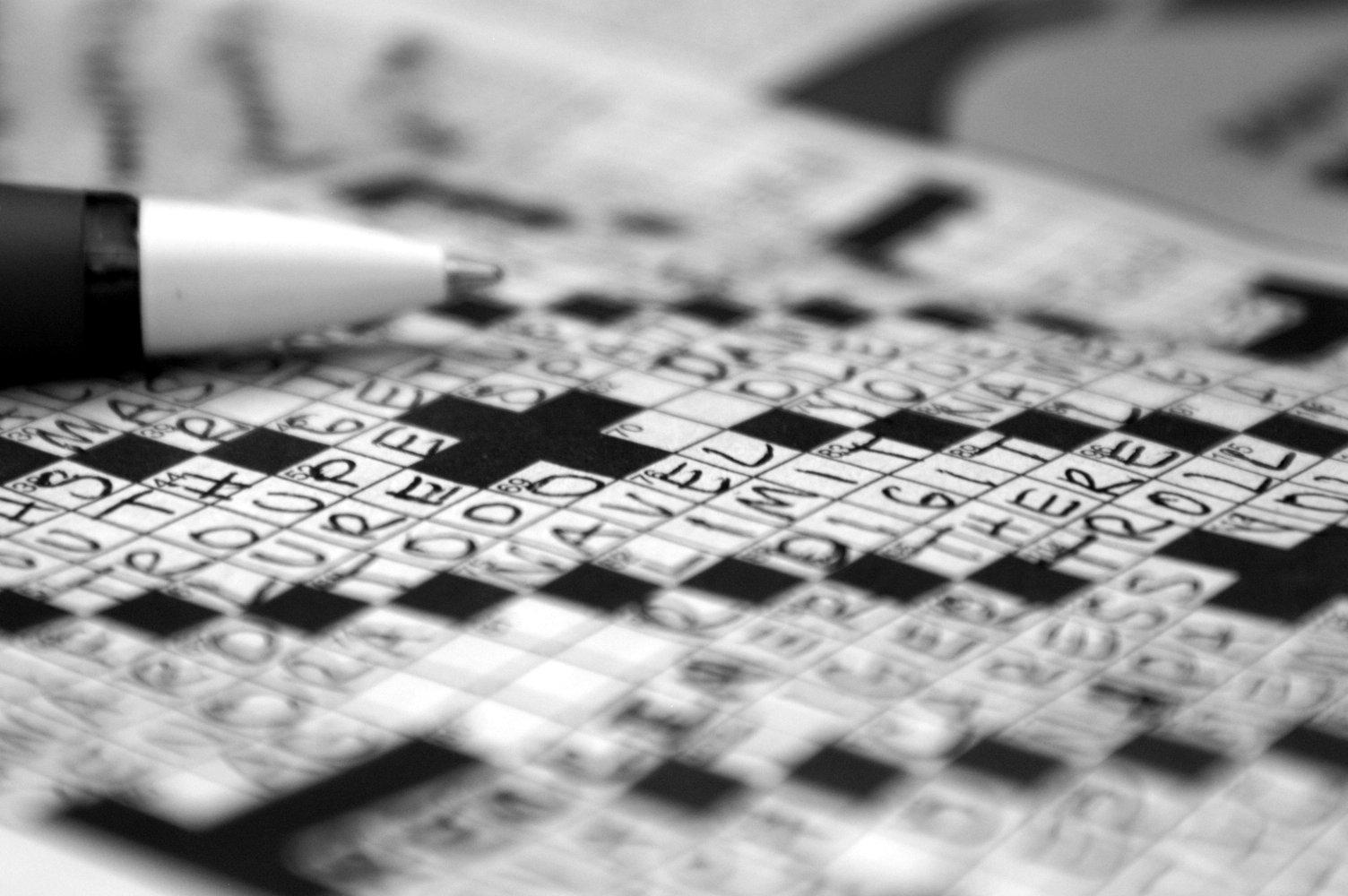 Photo:    Crossword    by Beth,    CC-BY-NC-2.0    via Flickr.
