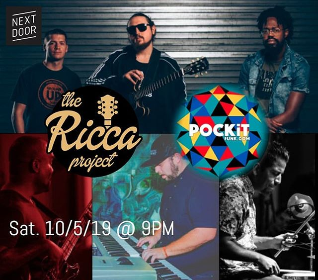 This Saturday!!!!! Fort Lauderdale where you at?!?!? Come check us out and a long with our boys in @pockitfunk at @nextdoorci for some grooves, moves and brews!!! #livemusic #fortlauderdale #livemusic #localmusic #originalmusic #organtrio #funk #fusion #groove #soflomusic #soflomusic