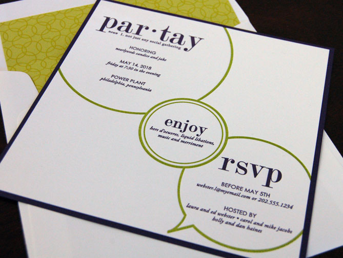 Houston Party Invitations