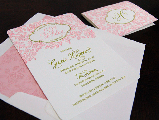 Custom Party Invitations in Houston Tx
