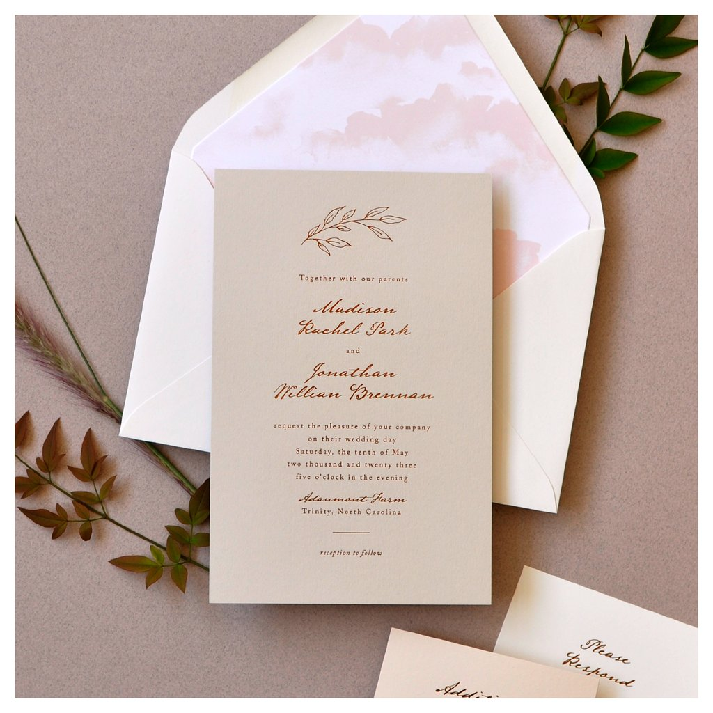 Houston Wedding Invitations