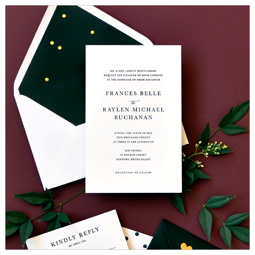 Wedding Invitations In Houston