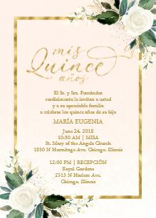 Houston XV Invitations