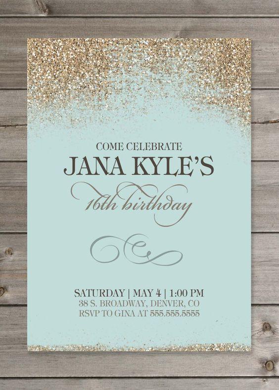 XV Invitations Houston