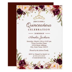 Houston Quince Invitations