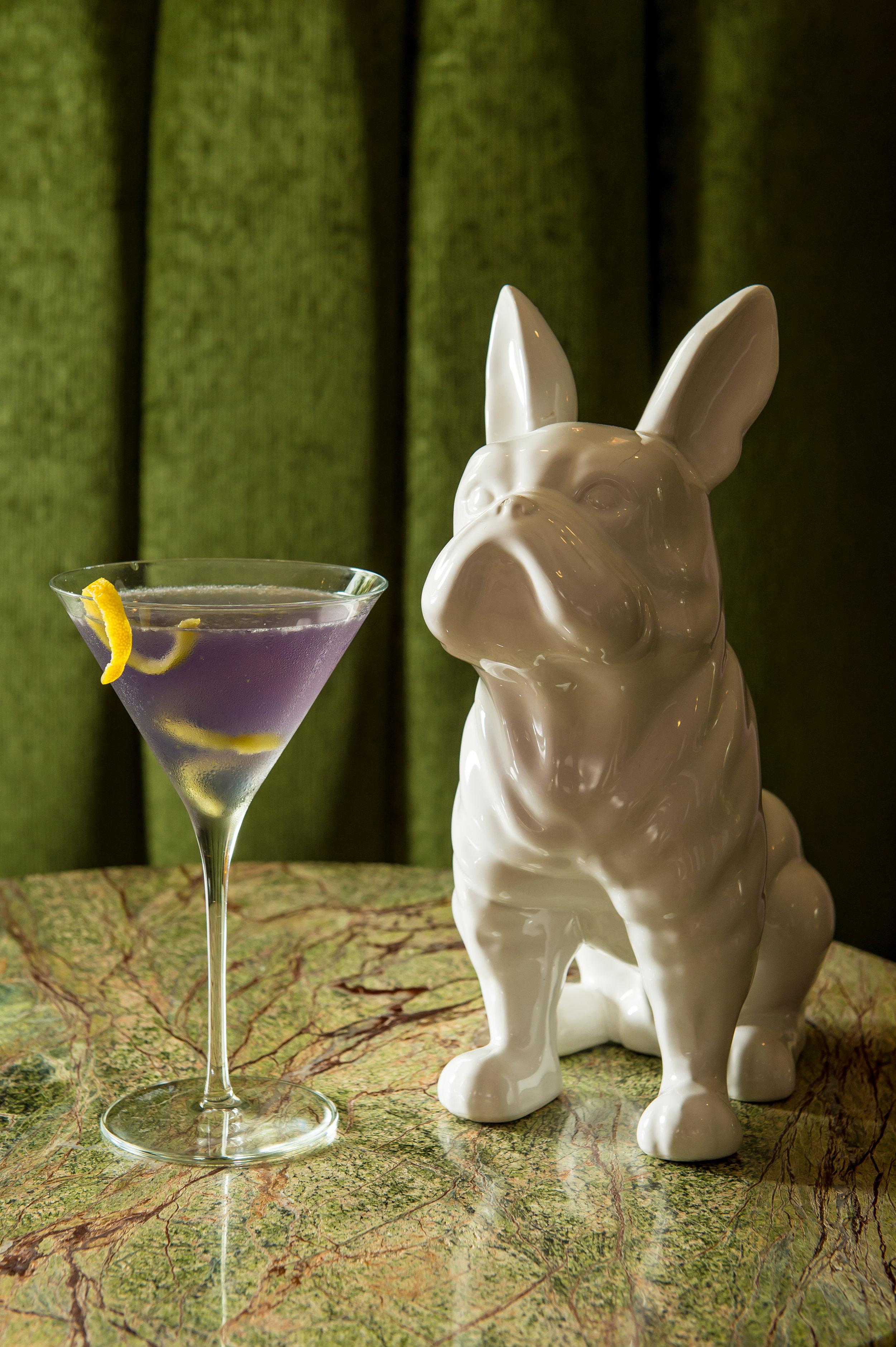 Aviation - bombay sapphire gin, luxardo maraschino liqueur, creme de violette, lemon