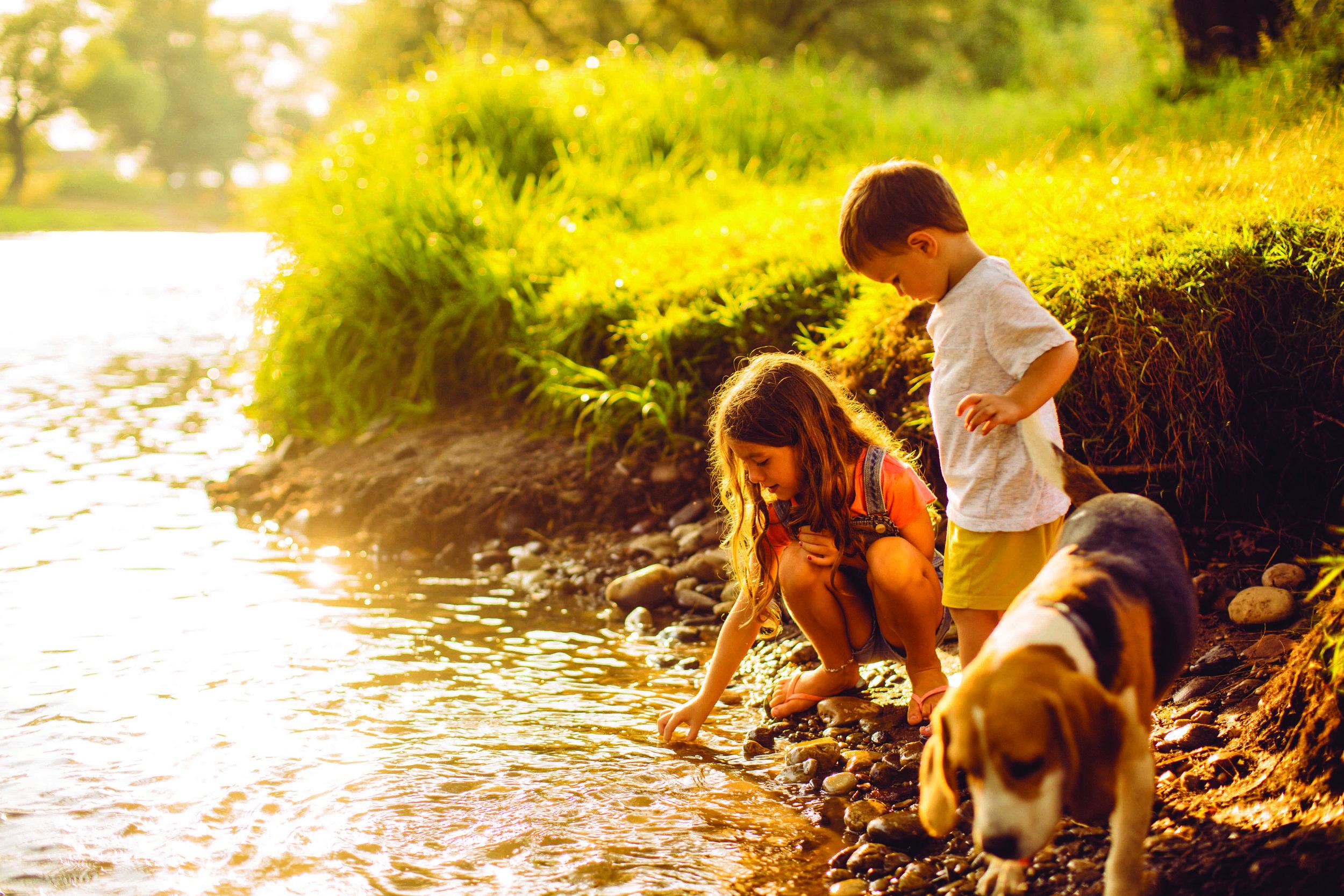 Kids on River Bank LR.jpg