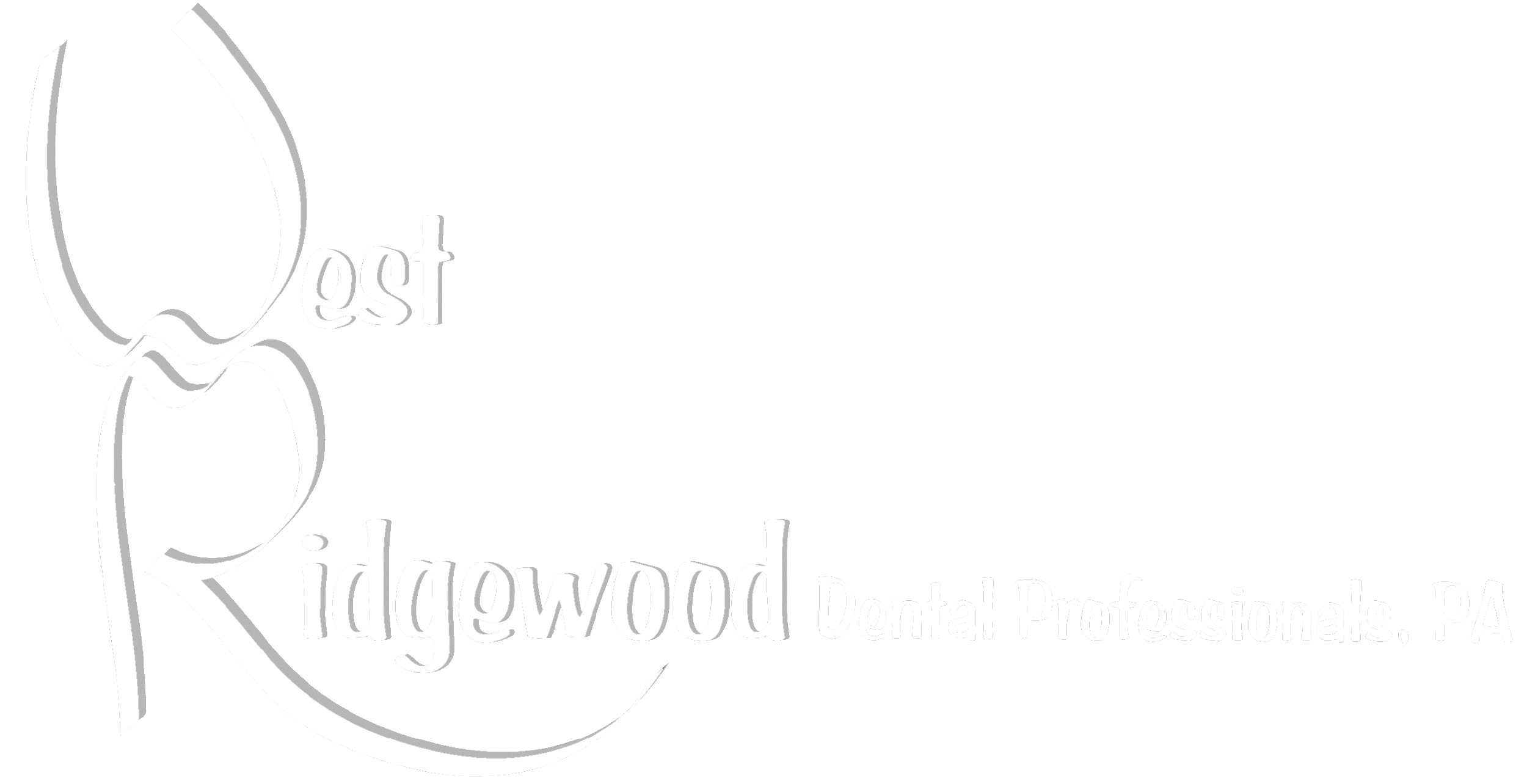 West Ridgewood Dental Professional, PA Logo Transparent White.png