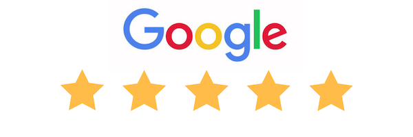 5 Star Google Logo - West Ridgewood Dental Professional - Best Dentist in Northern NJ and Bergen County.png