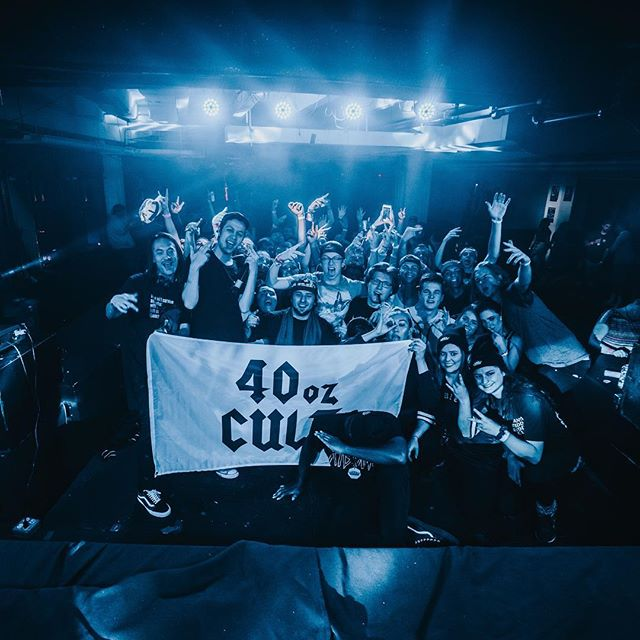Minneapolis- that was wild! Thanks to all of you guys for coming out to support @40ozCult ❤️ (📸: @_benbrodsky)