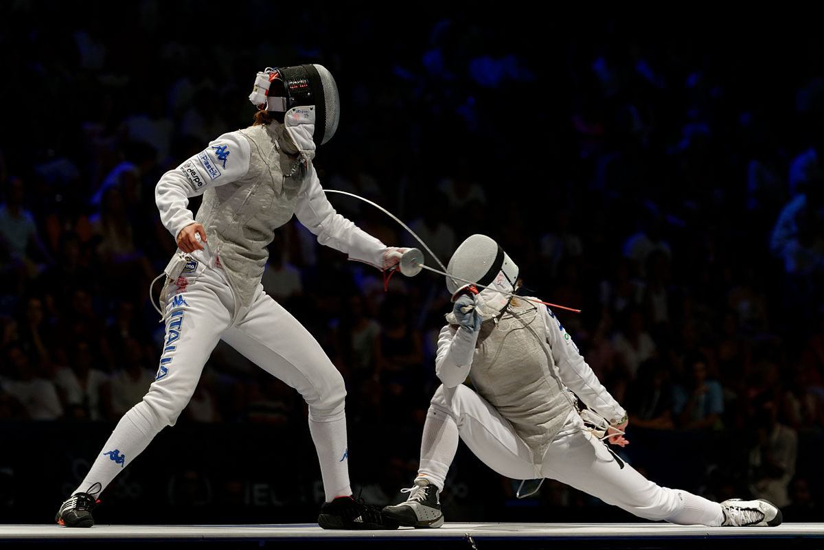 Olympic Sport Fencing - Fencing teaches confidence, discipline, self-control, problem-solving, and perseverance. It develops agility, coordination, strength, and speed. It is also incredibly safe. Safer than badminton. Fencing offers opportunities to compete for top NCAA universities.Best of all, it's a fun workout.